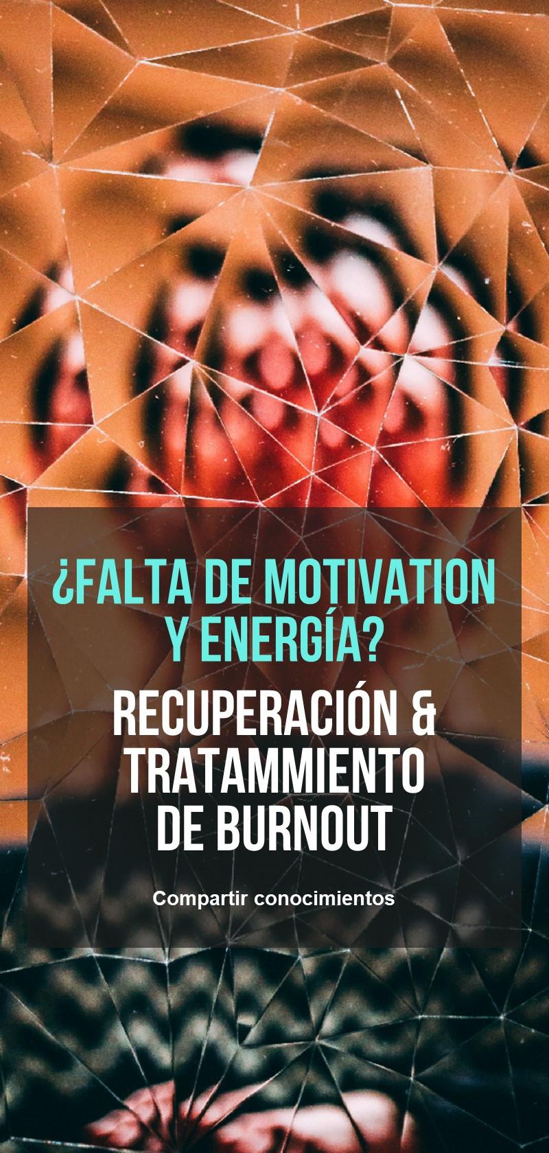Recuperación & tratamiento Burnout