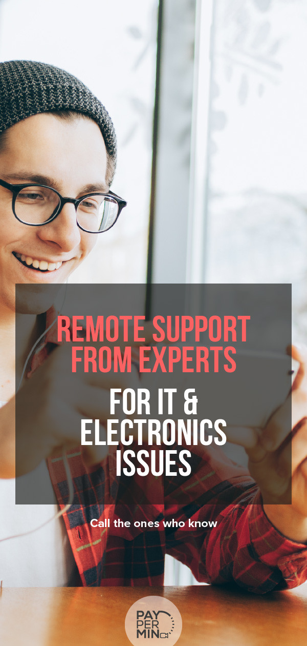 Remote Support from Experts in IT and Electronics