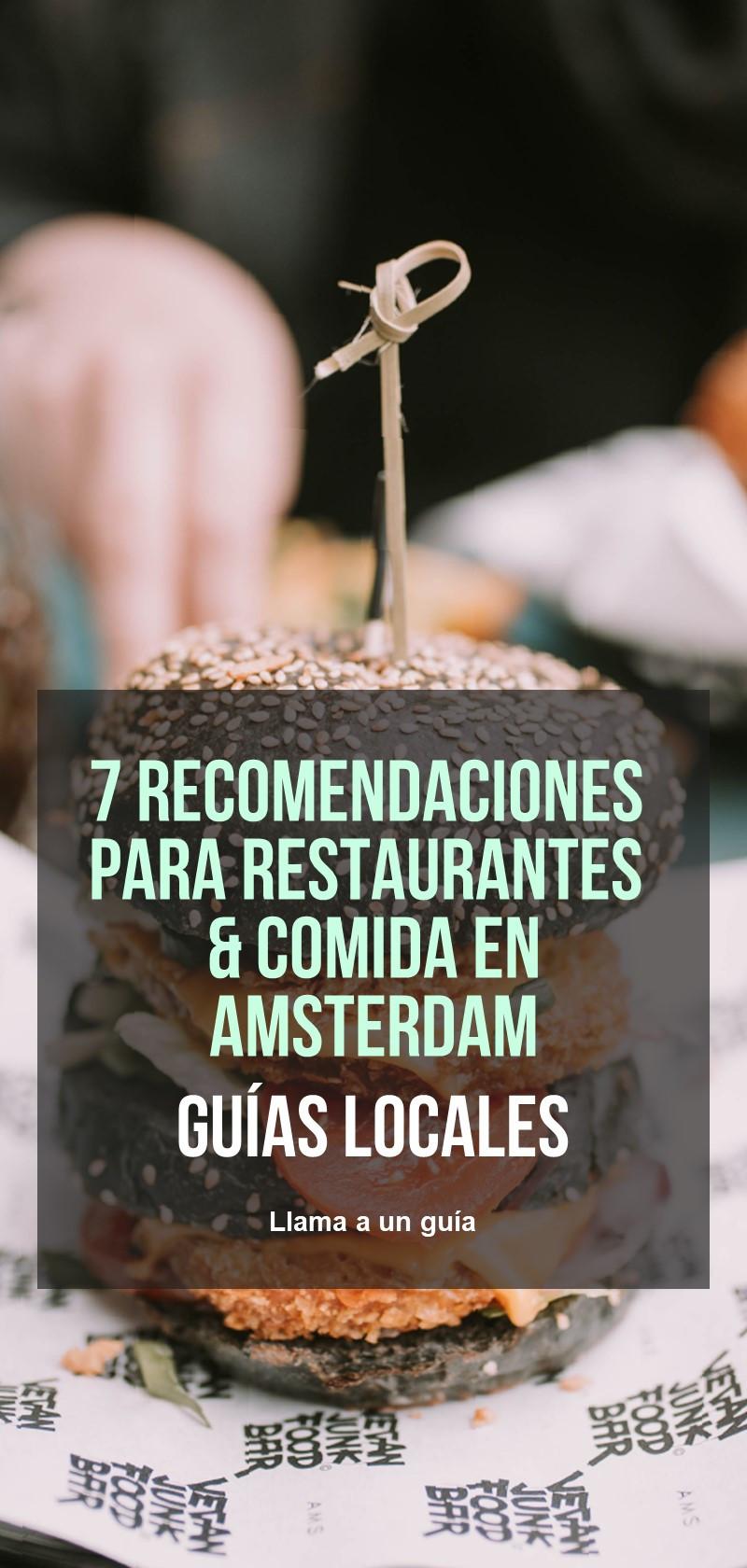 Restaurantes y comida en Amsterdam