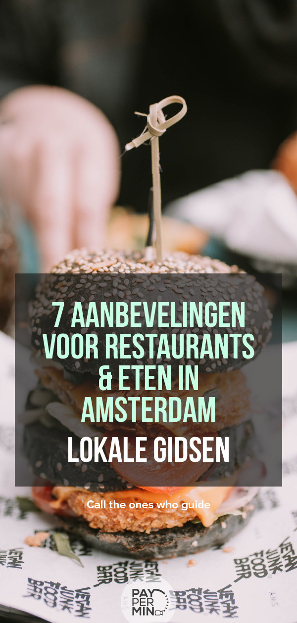 Restaurants en Eten in Amsterdam