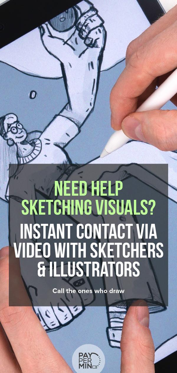Sketchers and illustrators