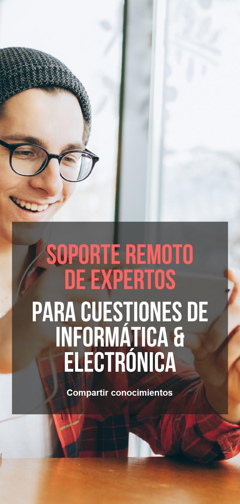 Soporte Remoto de Expertos en Informática y Electrónica