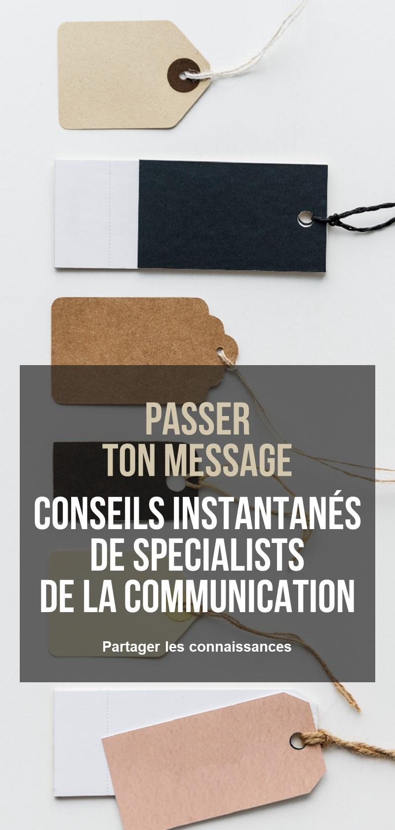 Apprends à communiquer efficacement avec un spécialiste