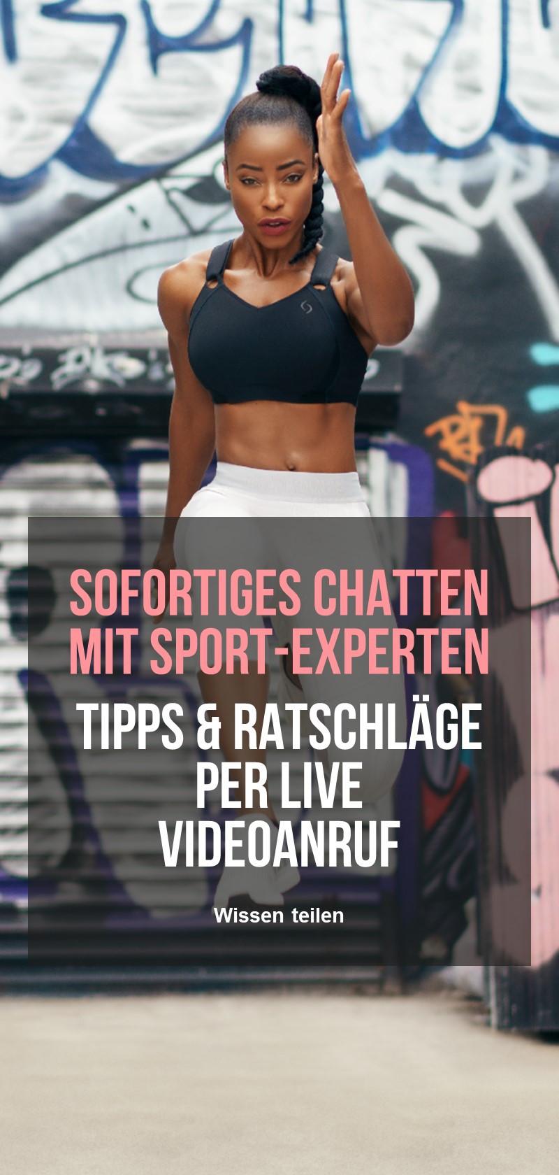 Personal Sport Trainer für Online-Fitness und Training