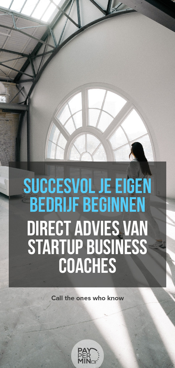 Startup business tips van adviseurs
