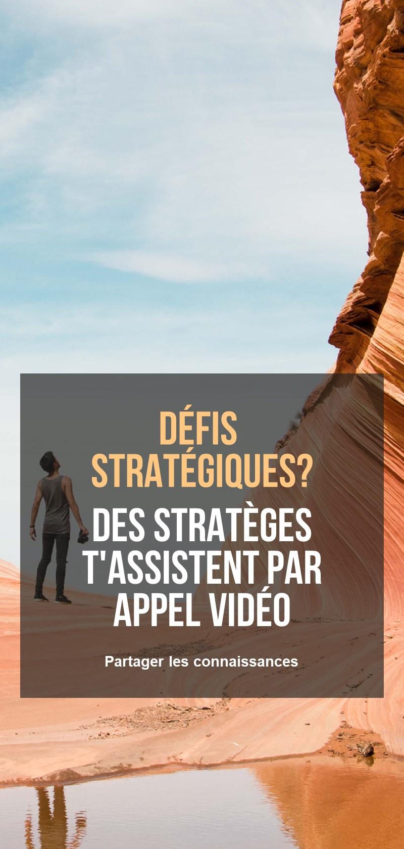 Conseil stratégique en affaires