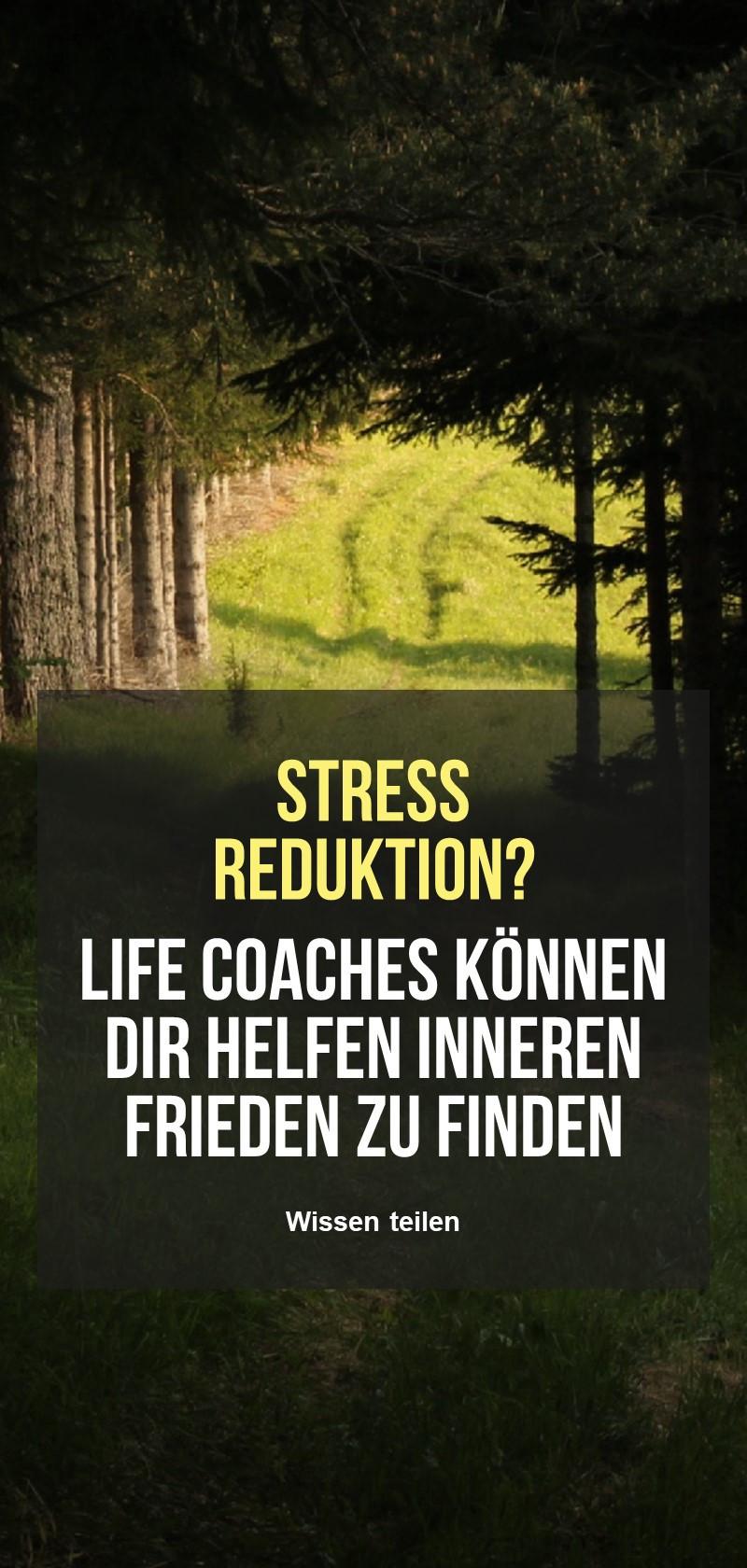 Stressabbau-Coaches