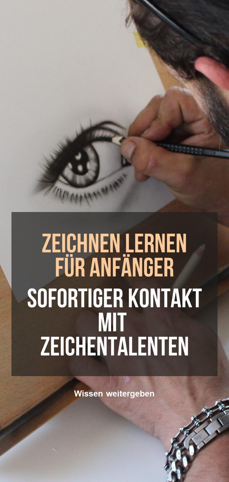 Talente und Lehrer zeichnen