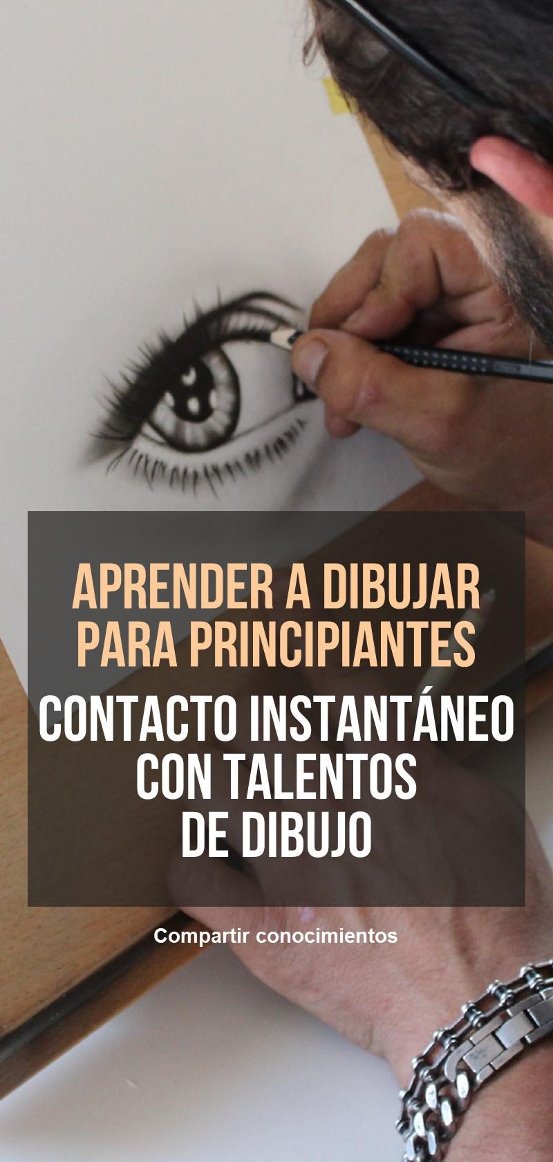 Talentos y profesores de dibujo