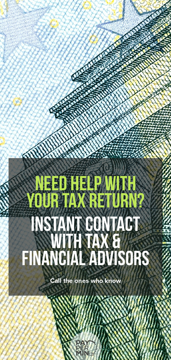 Financial advisors and tax consultants