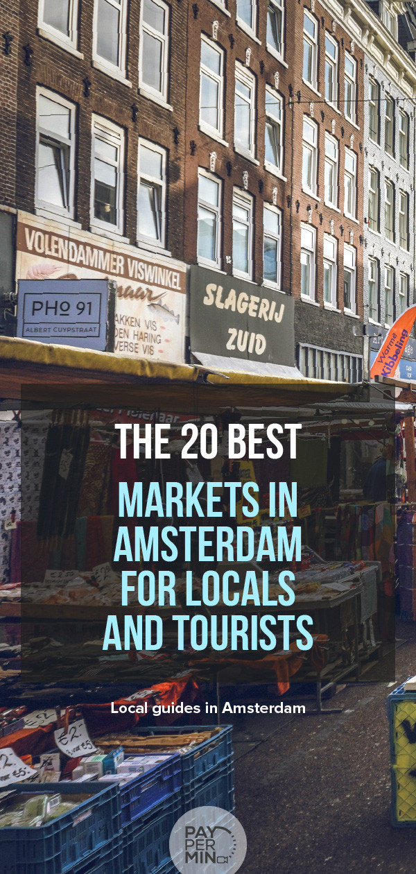 The 20 best markets in Amsterdam