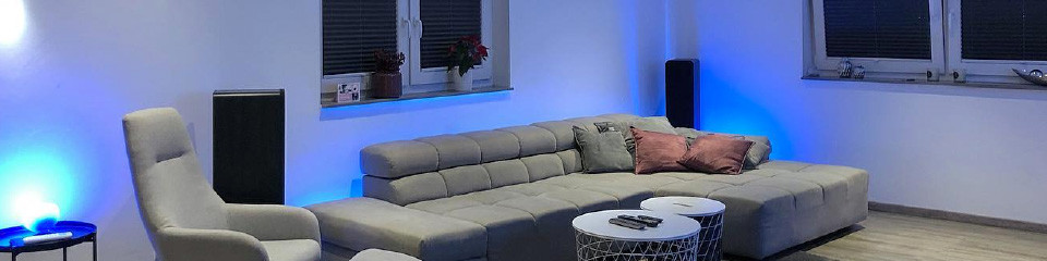 Philips Hue lamps