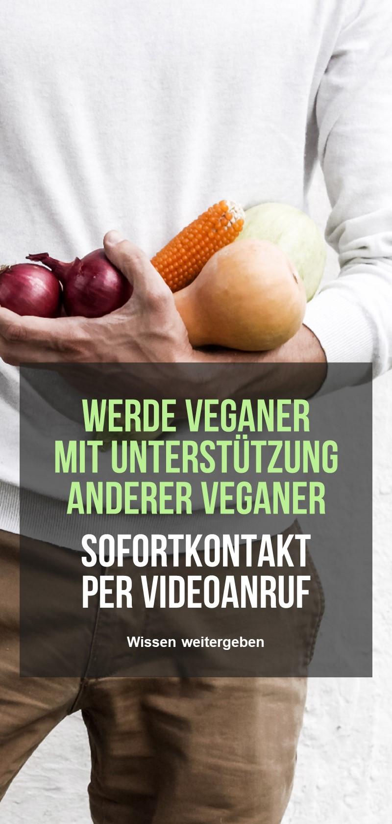 Rezepte und Ratschläge von Veganern