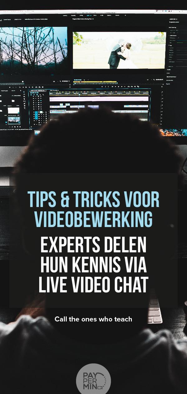 Videobewerking tips en tutorials