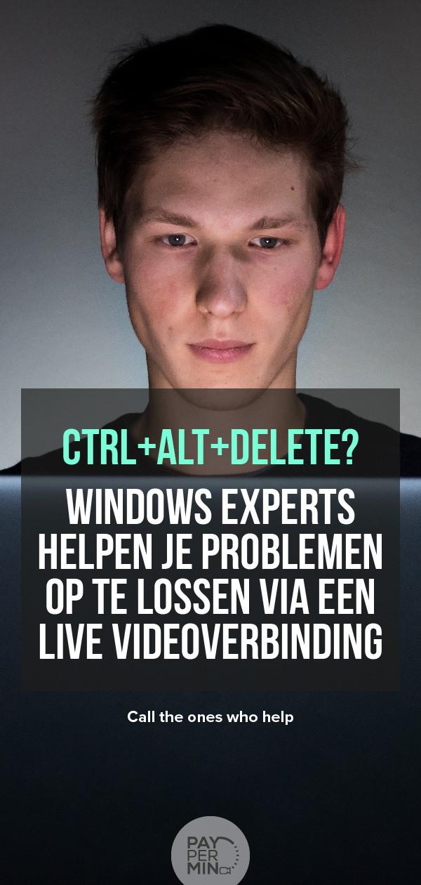 Windows Experts voor Hulp op Afstand