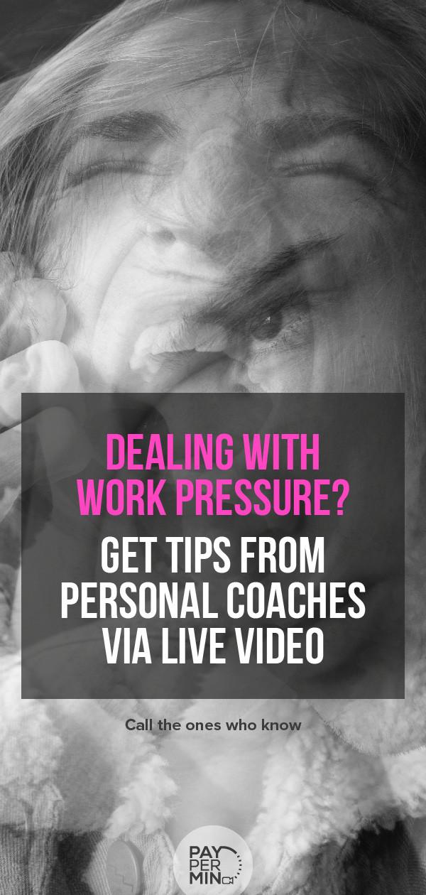 Stress at work management