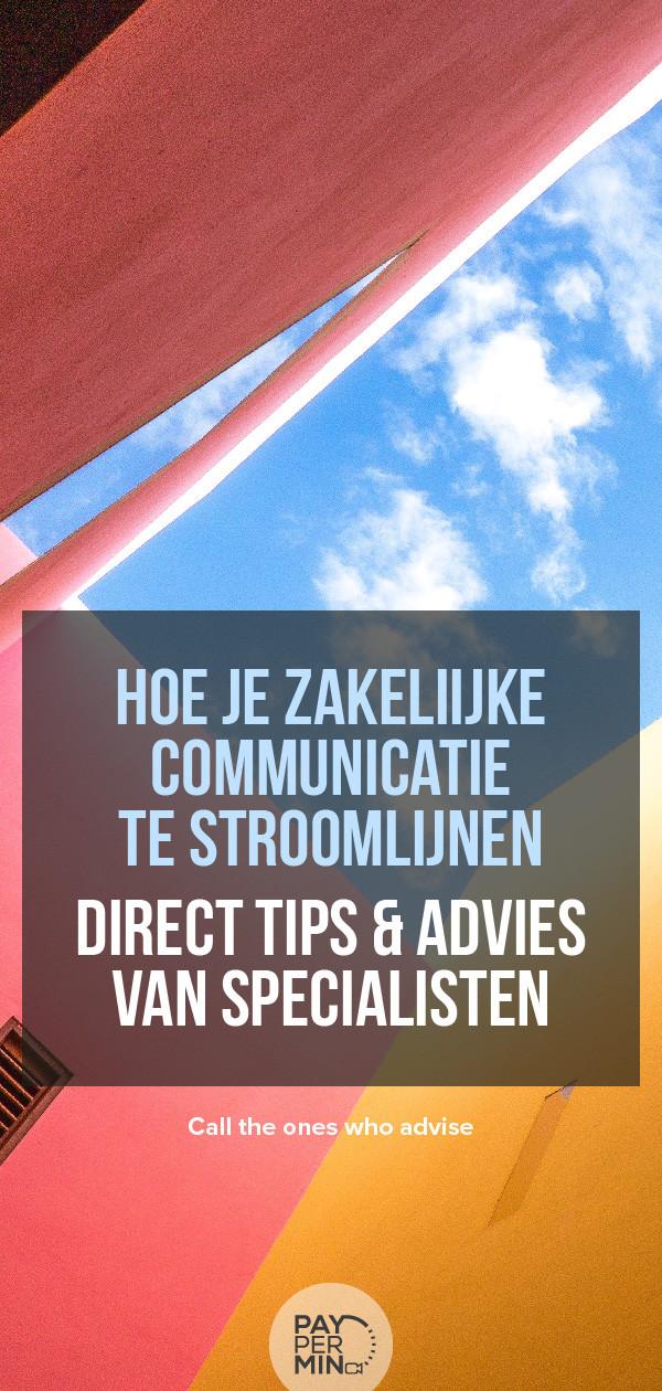 Zakelijke communicatie cursussen & consultants